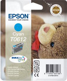 EPSON ORIGINAL - Epson T0612 Cyan (8 ml) Cartouche de marque
