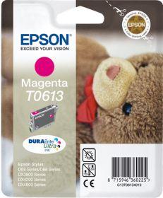 EPSON ORIGINAL - Epson T0613 Magenta (8 ml) Cartouche de marque