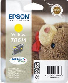 EPSON ORIGINAL - Epson T0614 Jaune (8 ml) Cartouche de marque