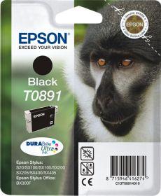 EPSON ORIGINAL - Epson T0891 Noir (5,8 ml) Cartouche de marque