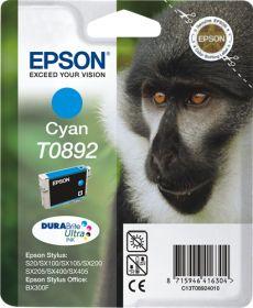 EPSON ORIGINAL - Epson T0892 Cyan (3,5 ml) Cartouche de marque