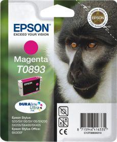 EPSON ORIGINAL - Epson T0893 Magenta (3,5 ml) Cartouche de marque