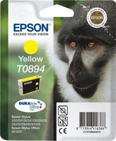 EPSON ORIGINAL - Epson T0894 Jaune (3,5 ml) Cartouche de marque