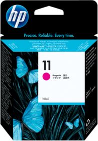 HP ORIGINAL - HP 11 / C4837A Magenta (28 ml) Cartouche de marque