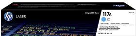HP ORIGINAL - HP 117A / W2071A Cyan (700 pages) Toner de marque