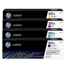 HP ORIGINAL - HP 201A Lot de 4 toners de marque