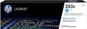HP ORIGINAL - HP 203X / CF-541X Cyan (2500 pages) Toner de marque