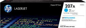 HP ORIGINAL - HP 207A / W2211A Cyan (1250 pages) Toner de marque