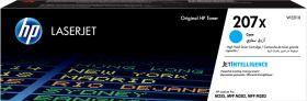 HP ORIGINAL - HP 207X / W2211X Cyan (2450 pages) Toner de marque