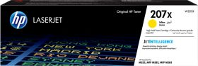 HP ORIGINAL - HP 207X / W2212X Jaune (2450 pages) Toner de marque