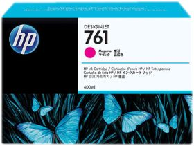 HP ORIGINAL - HP 761 / CM993A Magenta (400 ml) Cartouche de marque