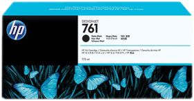 HP ORIGINAL - HP 761 / CM997A Noir Mat (775 ml) Cartouche de marque