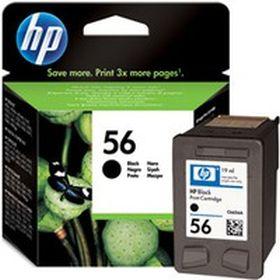 HP ORIGINAL - HP 56 / C6656AE Noir (19 ml) Cartouche de marque