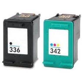 UPRINT - UPrint 336 / 342 Noir + Couleurs Pack de 2 Cartouches remanufacturées HP Qualité Premium