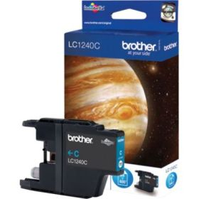 BROTHER ORIGINAL - Brother LC-1240 Cyan (600 pages) Cartouche de marque