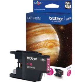 BROTHER ORIGINAL - Brother LC-1240 Magenta (600 pages) Cartouche de marque