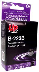 UPRINT - UPrint LC-223 Noire (550 pages) Cartouche compatible Brother Qualité Premium