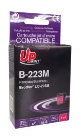 UPRINT/ QUALITE PREMIUM - UPrint LC-223 Magenta (550 pages) Cartouche compatible Brother Qualité Premium