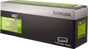 LEXMARK ORIGINAL - Lexmark 502 Noir (1500 pages) Toner de marque 50F2000