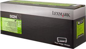 LEXMARK ORIGINAL - Lexmark 502H Noir (5000 pages) Toner de marque 50F2H00
