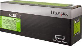 LEXMARK ORIGINAL - Lexmark 502U Noir (20000 pages) Toner de marque 50F2U00