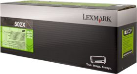 LEXMARK ORIGINAL - Lexmark 502X Noir (10000 pages) Toner de marque 50F2X00