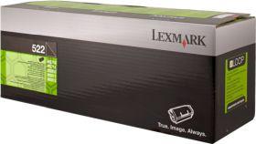 LEXMARK ORIGINAL - Lexmark 522 / 52D2000 Noir (6000 pages) Toner de marque