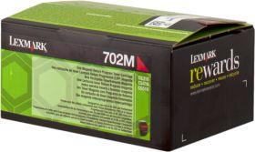 LEXMARK ORIGINAL - Lexmark 702M / 70C20M0 Magenta (1000 pages) Toner de marque