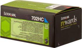 LEXMARK ORIGINAL - Lexmark 702HC / 70C2HC0 Cyan (3000 pages) Toner de marque