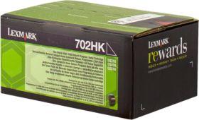 LEXMARK ORIGINAL - Lexmark 702HK / 70C2HK0 Noir (4000 pages) Toner de marque
