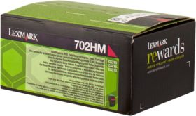 LEXMARK ORIGINAL - Lexmark 702HM / 70C2HM0 Magenta (3000 pages) Toner de marque