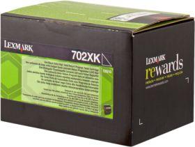 LEXMARK ORIGINAL - Lexmark 702XK / 70C2XK0 Noir (8000 pages) Toner de marque