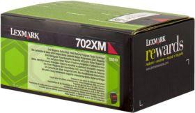 LEXMARK ORIGINAL - Lexmark 702XM/ 70C2XM0 Magenta (4000 pages) Toner de marque