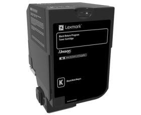 LEXMARK ORIGINAL - Lexmark 74C20K0 Noir (3000 pages) Toner de marque