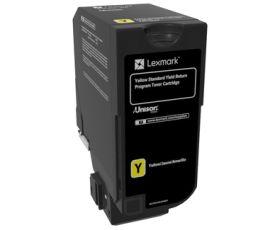 LEXMARK ORIGINAL - Lexmark 74C2SY0 Jaune (7000 pages) Toner de marque