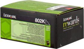 LEXMARK ORIGINAL - Lexmark 80C20K0 Noir (1000 pages) Toner de marque