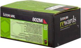 LEXMARK ORIGINAL - Lexmark 80C20M0 Magenta (1000 pages) Toner de marque