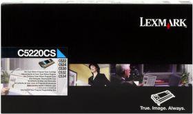 LEXMARK ORIGINAL - Lexmark C5220CS Cyan (3000 pages) Toner de marque