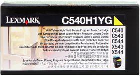 LEXMARK ORIGINAL - Lexmark C540H1YG Jaune (2000 pages) Toner de marque