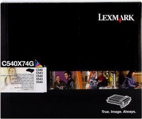 LEXMARK ORIGINAL - Lexmark C540X74G (30000 pages) Noir & couleurs Tambour de marque