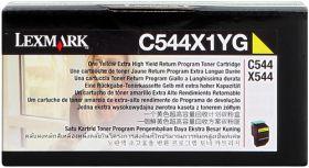 LEXMARK ORIGINAL - Lexmark C544X1YG Jaune (4000 pages) Toner de marque