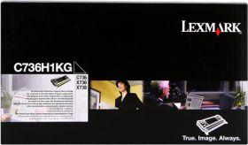 LEXMARK ORIGINAL - Lexmark C736H1KG Noir (12000 pages) Toner de marque