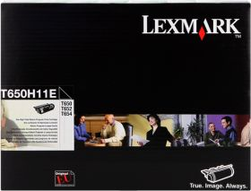 LEXMARK ORIGINAL - Lexmark T650H11E Noir (25000 pages) Toner de marque