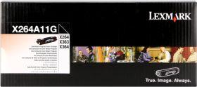 LEXMARK ORIGINAL - Lexmark X264A11G Noir (3500 pages) Toner de marque
