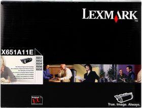 LEXMARK ORIGINAL - Lexmark X651A11E Noir (7000 pages) Toner de marque