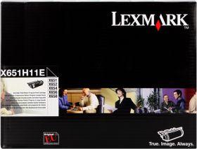 LEXMARK ORIGINAL - Lexmark X651H11E Noir (25000 pages) Toner de marque