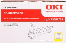 OKI ORIGINAL - OKI 43381705 Jaune (20000 pages) Tambour de marque