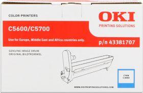OKI ORIGINAL - OKI 43381707 Cyan (20000 pages) Tambour de marque