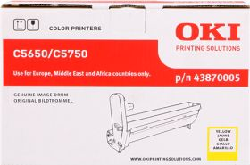 OKI ORIGINAL - OKI 43870005 Jaune (20000 pages) Tambour de marque