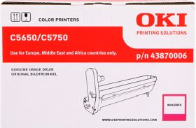 OKI ORIGINAL - OKI 43870006 Magenta (20000 pages) Tambour de marque